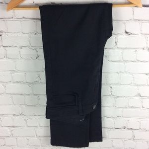 J Brand Maria Straight Leg High Waist Black 27